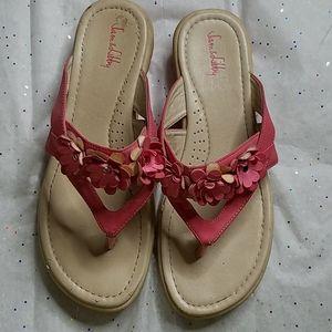 💧Sam & Libby Floral Flip Flop Sandles